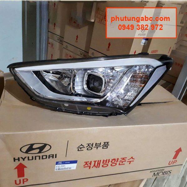 đèn pha Hyundai Santafe 2015